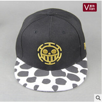 Free shipping sea poacher king style men women stage show hip hop hats round point picture cap