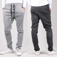 Outdoors Saroul roupas Hombre Calca Masculinas Pantalones Baggy Pants Trousers Drop Crotch Sport Hip Hop Harem Joggers Jogging