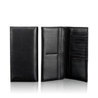 New Wallet 18643 Tami Large Zip wallet purses Genuine leather wallet for men