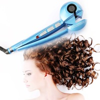 3 CURL EFFECTS 100% AUTHENTIC CREATE VARIOUS STYLES FABULOUS HAIR CURLER IRON PROFESSIONAL BLUE MACHINE