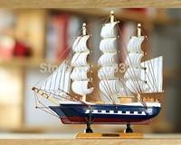 Hnad made Wooden Craft Sailing ship model   4 packs set
