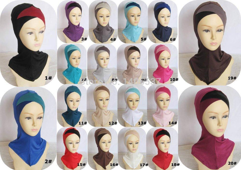Шапочка под хиджаб своими руками 10