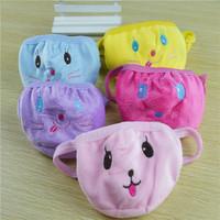 Fashion 100% cotton cartoon face masks child winter thermal dust masks