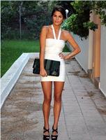 2015 new women sexy dress sexy clubwear bandage party dress vestido dress off shoudler slim dress free shipping