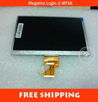 "Original LCD Display 7"" Megafon Login 2 MT3A Login2 Tablet 40P inner LCD Screen Panel Matrix Digital Replacement Free Shipping"