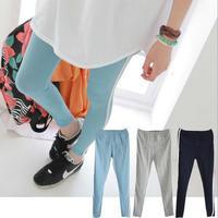 3 Colors 2014 New Women Cotton Sport Leggings Pants Sexy Stripe Patchwork Casual Leggins For Girls Women Workout Jeggings L43