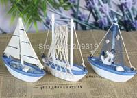 Mini Wooden Craft Sailing ship model 13cm