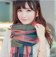 Women Scarves Wear 2014 New Fashion American and Europe hottest carf Shawl Scarves For Woman multi color 3 WJ-0003