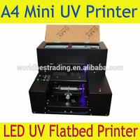 Smallest A4 UV Flatbed Printer -A4 LED UV Flatbed Printer