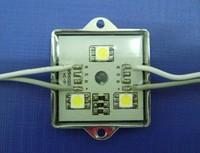 20 pcs Full Color Iron Shell Power LED Module Light 5050 3LED WS2811 Waterproof Glue DC12V 0.72W IP65 LED Sign Letter