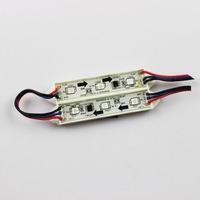 Full Color Power LED Module Light 5050 3LED WS2811 Waterproof Glue DC12V 0.72W IP65  LED Sign Letter Free Shiping