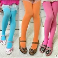 Cotton Baby Leggings Winter Full Length Elastic Waist Girl Winter Leggings Broadcloth Baby Leggings Girl For 2-12T