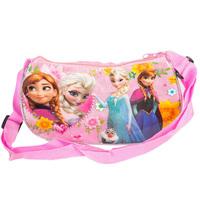 Frozen Crystal pink moon package Children's picnic shoulder bag Children's shoulder bag Messenger 41678560482 201411HL
