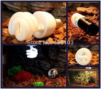 1Pcs/lot Reptile Compact  5.0  UV BULB VIVARIUM REPTILE TERRARIUM UVB P416