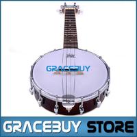 Banjo Rosewood And Mahogany 4 String Banjolin For Sale, High Quality