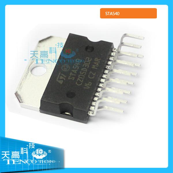 7pcs/lot audio output ic STA540 audio delay ic free shipping(China (Mainland))