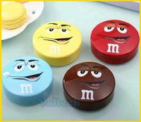 Cute Chocolate M Beans 8000mah Portable Power Bank External USB Battery Charger Pack For iPhone Samsung HTC