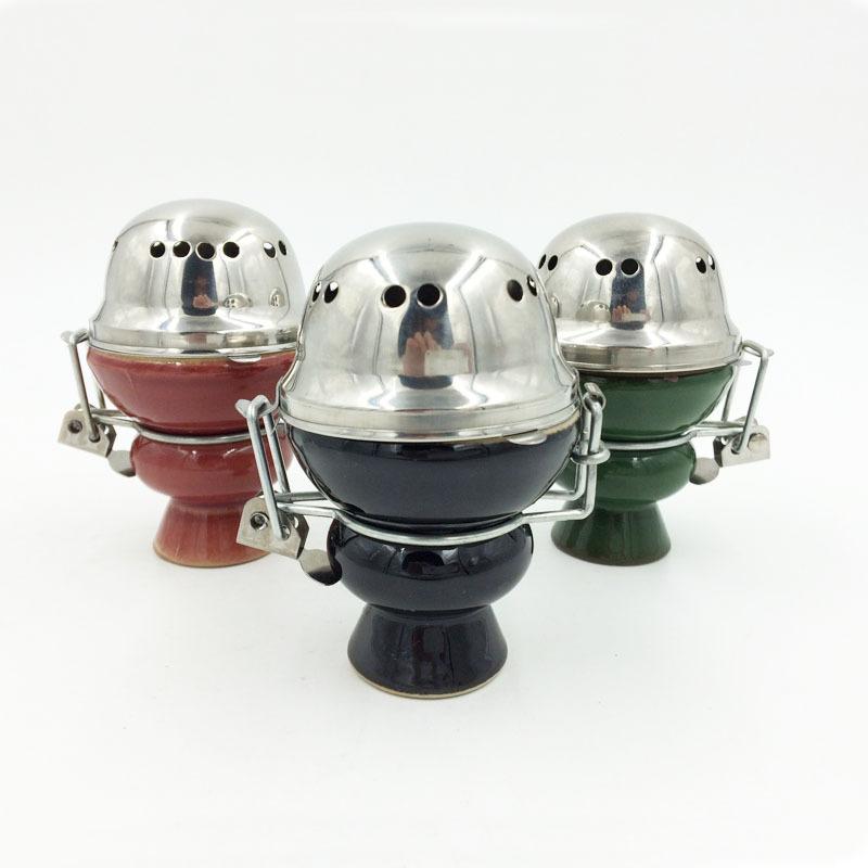 Drop shipping shaped ceramic bowl hookah bowl of water, hookah hookah bowl, coal stand with(China (Mainland))