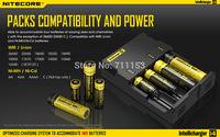 Genuine  Nitecore Intellicharger i4 Universal 4-Slot Li-ion/Ni-MH/Ni-Cd Battery Charger For 18650 26650 14500 16340