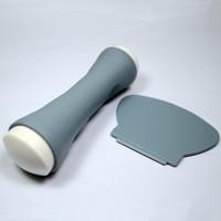 2pcs/set Pro DIY Nail Art Image Paint Polish Plate Stamping Stamper Metal Scraper Knife Set Kit Nail Art Templates #NA177