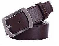 100% cowhide genuine leather belts for men brand Strap male pin buckle fancy vintage jeans cowboy cintos