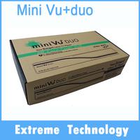 2pcs MINI VU+DUO Twin Tuner dvb-s2 satellite tv receiver Linux 405mhz Processor for Euro/USA/AUS