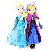 Retail 40CM Frozen Plush Toys 2014   Princess Elsa plush Anna Plush Doll Brinquedos Kids Dolls for Girls