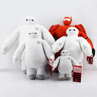 The big hero 6 Baymax plush dolls 5styles Baymax plush hand can move white and orange 18 and 30 and 40CM