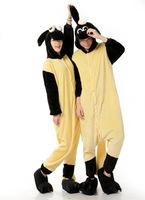 Shaun The Sheep Cartoon Movie Cosplay Costume Men Women Adult Onesie Pajamas Soft Fleece Pyjamas Jumpsuit Romper Sleepwear