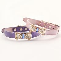 Armi store Pearl Bow Pet Puppy Princess Collar 41023 Fashion Dog Collars
