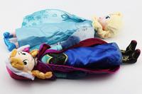 New arrival 38CM  Frozen 2styles Plush Toys 2014 New Princess Elsa plush Anna Plush doll for choosing