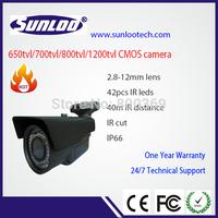 1/3'' CMOS camera 700tvl IP66 waterproof IR camera