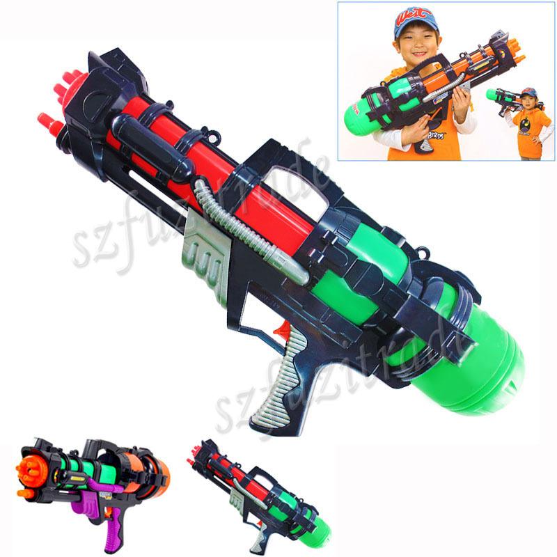 Plastic Toys Big Toy Water Gun Pistol Inflatable Pressure Gun Outdoor Fun Sports Summer Beach Shooting Squirt Nerf Water Bullet(China (Mainland))