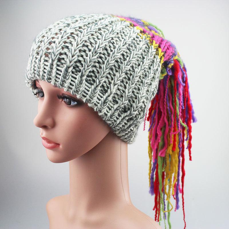 Hat Lady Male Ponytail Hat