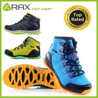 RAX waterproof hiking shoes men suede leather hiking shoes outdoor shoes cushioning Aeolus 33-5B086