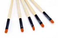 Hot New Pro Makeup kit professional Brushes Cosmetic Set High Quality Wood Eyeline Brush Tools 5 PCs b4