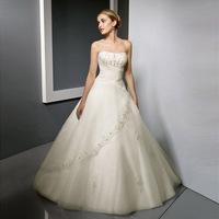 2014 new fashion the bride princess wedding dress plus size lace wedding dresses