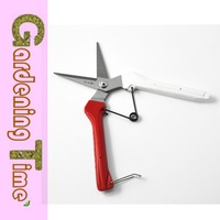Bypass Gardening Landscape Red, White And Manganese Steel Gardening Shears Wholesale Agricultural Garden Shears