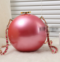 New Hot Shining Luxury Catwalk Pearl Ball Clutch High Quality Must Have Model