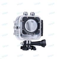 Original Cube M10 Underwater 30M Waterproof Dive Housing Case for Camcorder SJCAM Camera Helmet hard case camera Accessories
