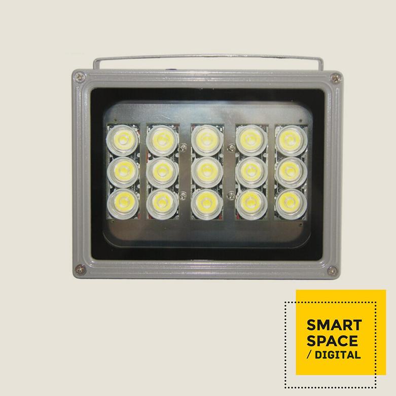 18 W placa de captura de 15 matriz de led de luz branca nightvision IR iluminador luz para CCTV WDR câmera de vídeo colorida(China (Mainland))
