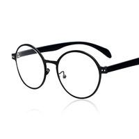 2014 New Metal Retro Round Women/men Eyewear Eyeglasses Spectacles Frame Glasses Optical Frame Plain Glasses
