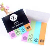 KPOP EXO XOXO BIBGBANG GD MINHO Popular Beautiful Memo Pads 5 Bags/Lot