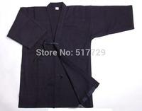New High Quality Navy Blue 100% cotton kendo aikido hapkido shirts Martial Arts kendo uniforms Sportswear Kendo Iaido Kimono