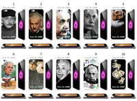 Albert Einstein design new arrival fashion luxury white hard back case cover for apple iphone 6 plus