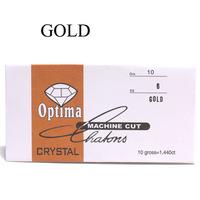 gold color nail art diamond ss6 rhinestones 2mm diameter glass rhinestones in paper pack nail rhinestone
