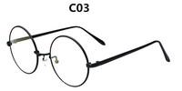 2014 New Brand Designer Metal Round Men&Women Optical Frames Plain Glasses Eyewear Eyeglasses Spectacles Frame Glasses