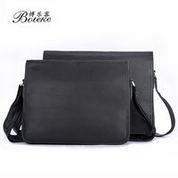 2014 new  men 100% Genuine leather Bolsa real cowhide Handmade Business High-end One Shoulder Worn Men Bags Briefcases Bag