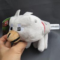 Minecraft Wolf Plush Toy 20cm New free shipping