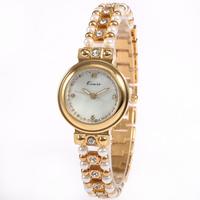 Authentic KIMIO Fashion Elegant Pearl Diamond Bracelet Watch High-Grade Quartz Watch The Women's Party
